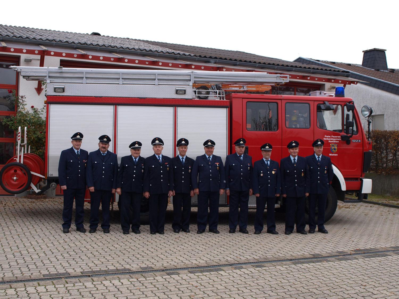 Alters- und Ehrenabteilung (Stand 2012)